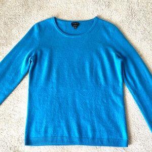 Talbots Pure Cashmere Crewneck Sweater